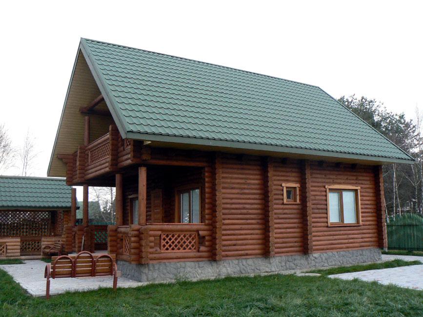 Деревянный дом может быть изготовлен
